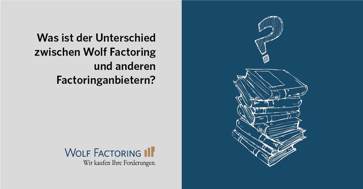 Was ist der Unterschied zwischen Factoring und Inkasso?
